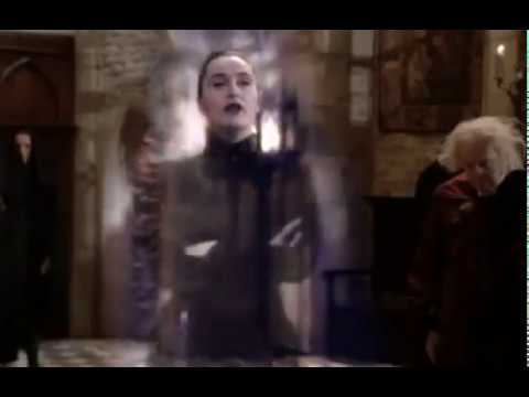 The worst witch - miss hardbroom wishes Mildred luck at weirdsister