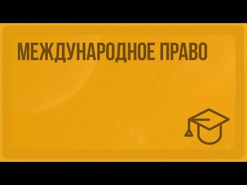 видео: Международное право