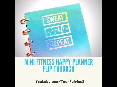 happy-planner-fitness-mini-flip-through