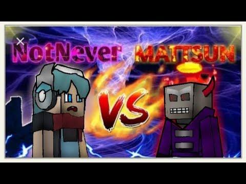 NotNever VS MATTSUN - Bed Wars [BlockmanGo]