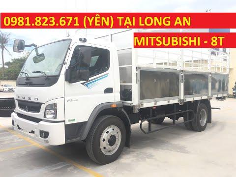 Trực tiếp 9/12: Xe Tải MITSUBISHI FUSO FI170 thùng mui bạt 8.3 tấn thùng dài 6.1 mét. LH 0938907659