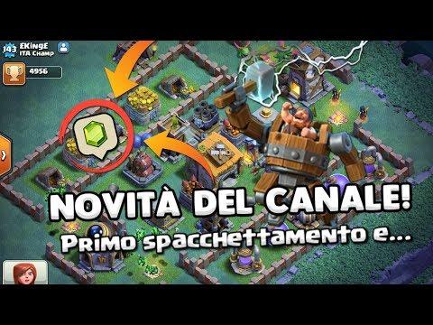 SUPER NOVITA' del CANALE! | Spacchettiamo e altro... | Clash of Clans ITA