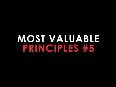 Recognize Your Two Barriers: Top 5 Most Valuable Principles #5