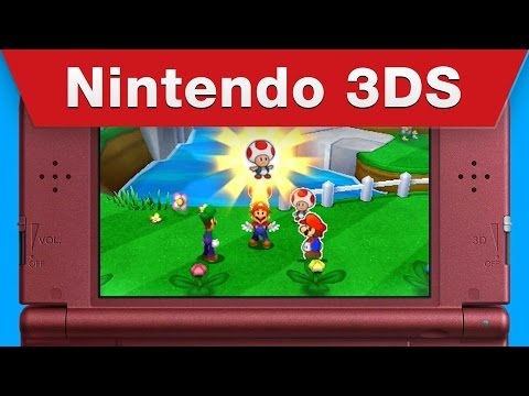 Nintendo 3DS - Mario & Luigi: Paper Jam E3 2015 Trailer