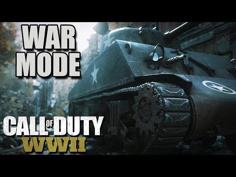 Call of Duty WW2 WAR MODE, Female Soldiers, Drama (Call of Duty WW2 War Mode Gameplay Part 1)