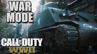 Call of Duty WW2 WAR MODE, Female Soldiers, Drama (Call of Duty WW2 War Mode Gameplay Part 1)