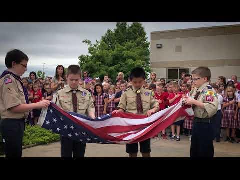 Magdalen Catholic School 2019 Closing Flag Ceremony