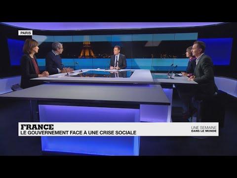 France : le gouvernement face à une crise sociale