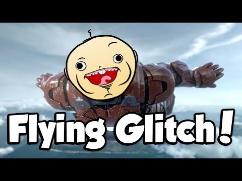 FLYING GLITCH! (Call of Duty: Advanced Warfare Funny Glitches)