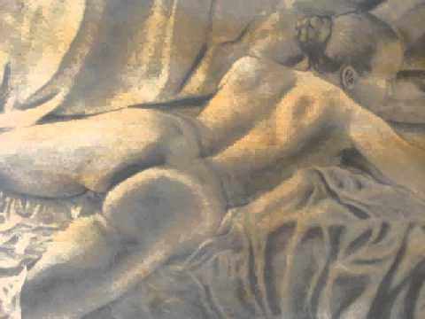 Nudo su drappo rosso. By Luloca