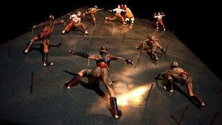Cirque Du Soleil KA' Theatre Spectacular - Behind The Scenes Tour - MGM Grand Hotel Casino Las Vegas