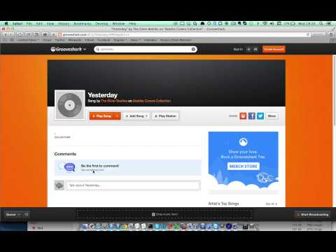 Vortex 101 - Downloading a song from GrooveShark.com