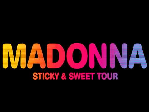Madonna  Into the groove (sticky & sweet studio version).