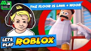 Il pavimento è Lava o forse succo d'arancia? Benvenuti a Roblox - JK GAMING TV