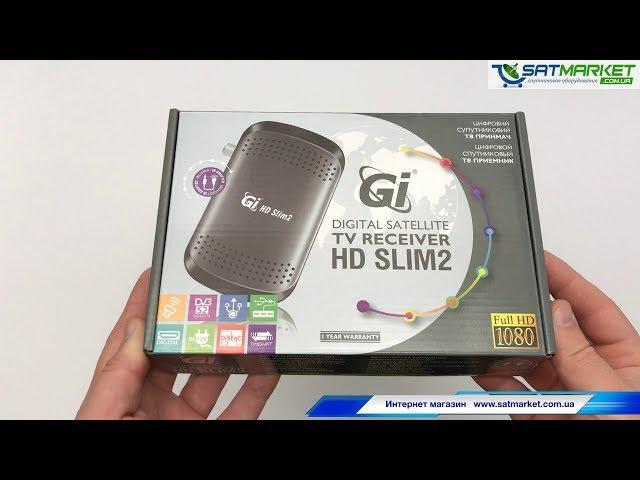 Видео обзор GI HD SLIM 2 (Galaxy Innovations)