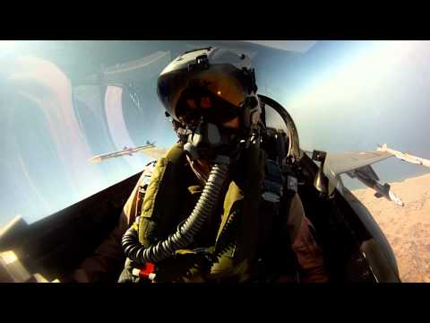 Danske F-16 I Operation Unified Protector (Libyen) HD