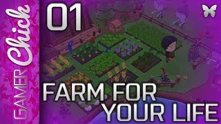 ❤ Let's Play - Farm For Your Life [Part 1 Zombies?!] (PC) w/ GamerChick