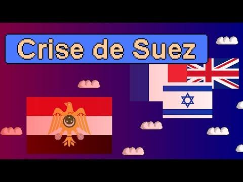 La crise du canal de Suez en 1956