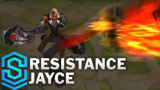 Resistance Jayce Skin Spotlight - Pre-Release - League of Legends