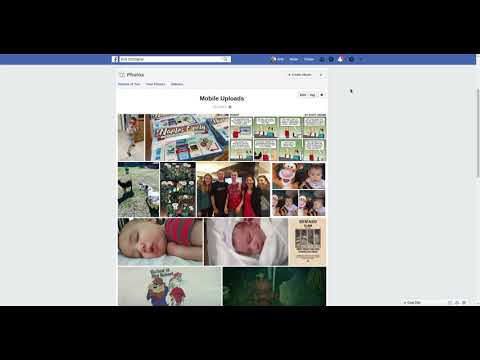 Moving Photos From Facebook's Mobile Uploads