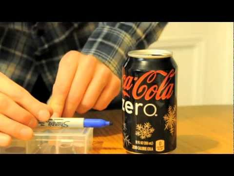 Ultralight Backpacking Soda Can Stove