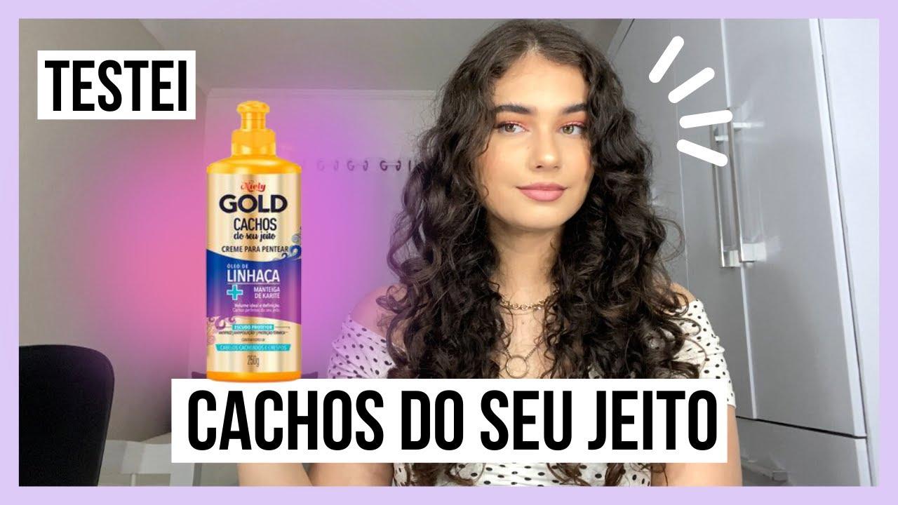 Testei CACHOS DO SEU JEITO NIELY GOLD *cabelo ondulado* | Ana Moraes