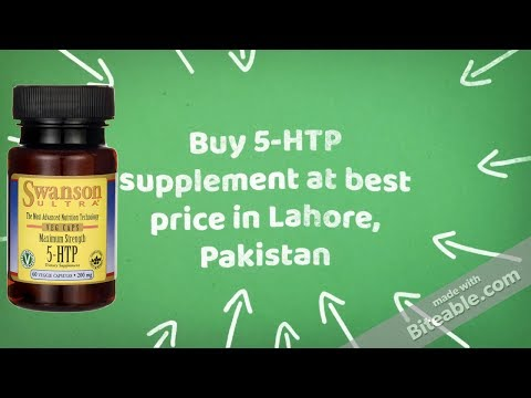Best Buy Order Delivery 5-HTP Extracts Capsules Organic Supplement Lahore Pakistan