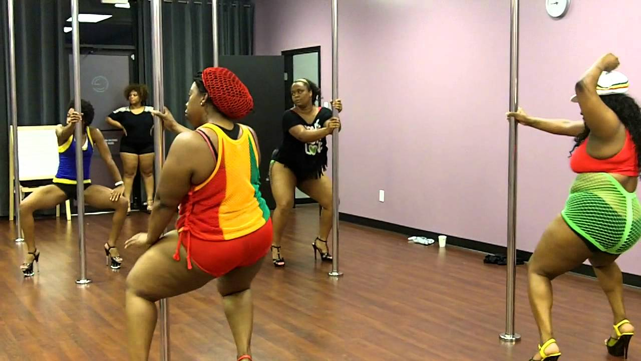Bbw stripper pole dancing