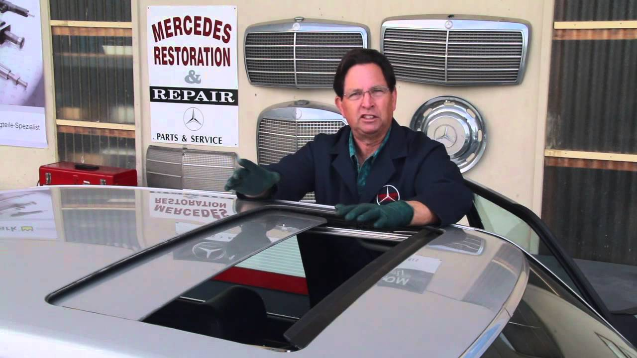 Mercedes Power Sunroof Maintenance Tip By Kent Bergsma