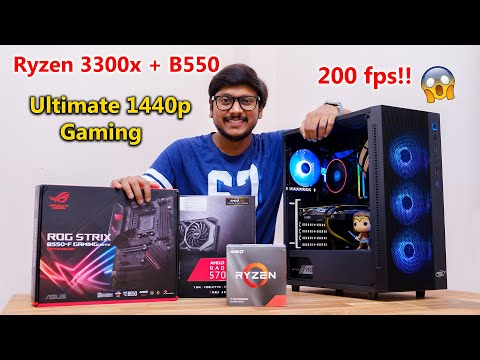 ryzen-3-3300x-&-b550-ultimate-gaming-pc-build...-awesome-performance-!!-🔥🔥