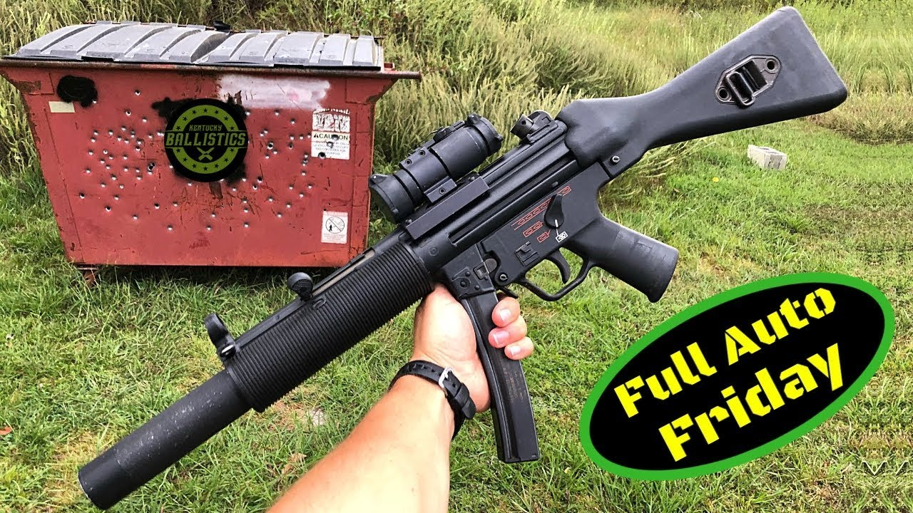 Download MP5 vs Dumpster (Full Auto Friday)