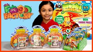Blind Bag Mondays - Moshi Monsters Food Factory Blind Bag Monday Haul - KidToyTesters