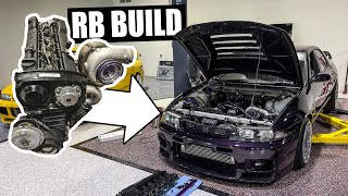 The R33's RB25 build begins... Pulling & Tearing down the RB!