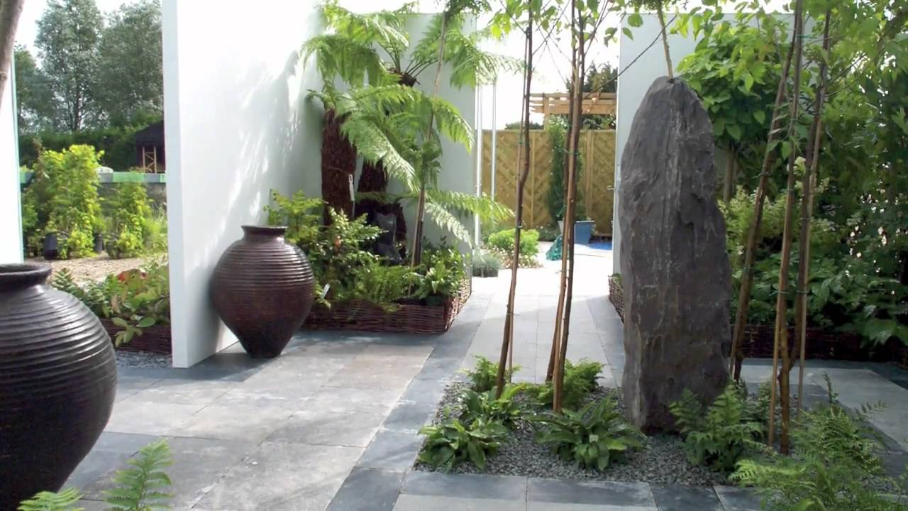 contemporary garden ideas - landcaping pictures gallery - youtube