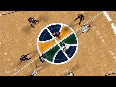 NBA 2K18 - Utah Jazz vs Chicago Bulls - Gameplay (PS4 HD) [1080p60FPS]