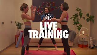 トレーナー:Grace, Tomo, Yuina NTCアプリ「気分を高める」コレクション から、「10分間のHIIT:脚とコア 」 「Nike Training Club」のダウンロードはこちら...