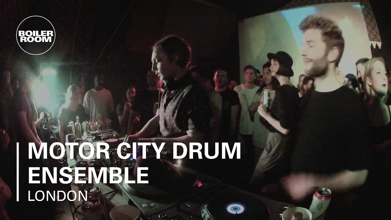 Motor City Drum Ensemble Boiler Room London DJ Set - YouTube