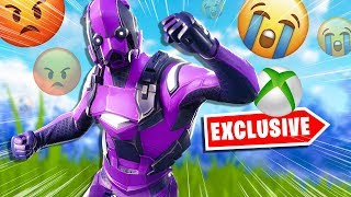 Salty Fortnite Players React To Dark Vertex Skin - Scénario Emote
