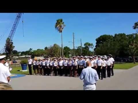 Admiral Farragut Academy  Class of 2014 Graduation - Hat throwing