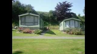 Pentre Ucha Caravan Park in Mid-Wales