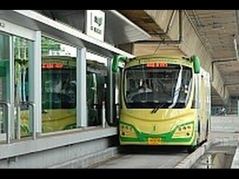 バンコクの高速バス・システム【BRT/サートーン~ラーチャプルック】前面車窓風景(長尺版)