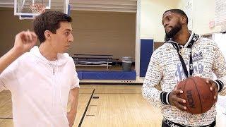 1 VS 1 AGAINST NBA PLAYER ROYCE O'NEALE