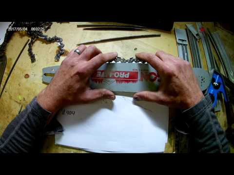 Chainsaw Chain and Guide Bar Basics Explained  CROSSOVER ASMR
