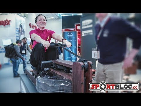 ISPO 2018: Nohrd-Waterrower innovative Sportgeräte aus Holz