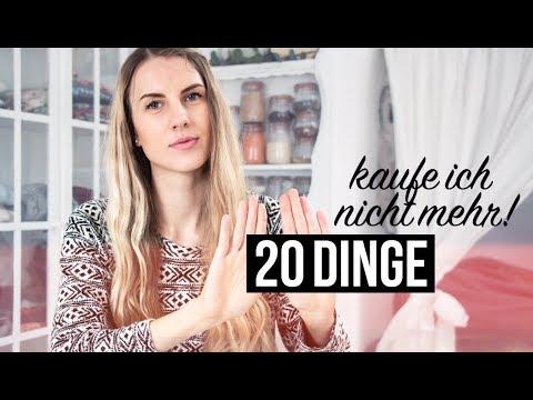 20 DINGE, die ich nicht mehr kaufe | MINIMALISMUS im Bad | Zero ...