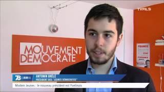 Modem Jeunes : le nouveau président est yvelinois
