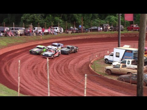 Winder Barrow Speedway Stock Eight Cylinders  Race 7/28/18