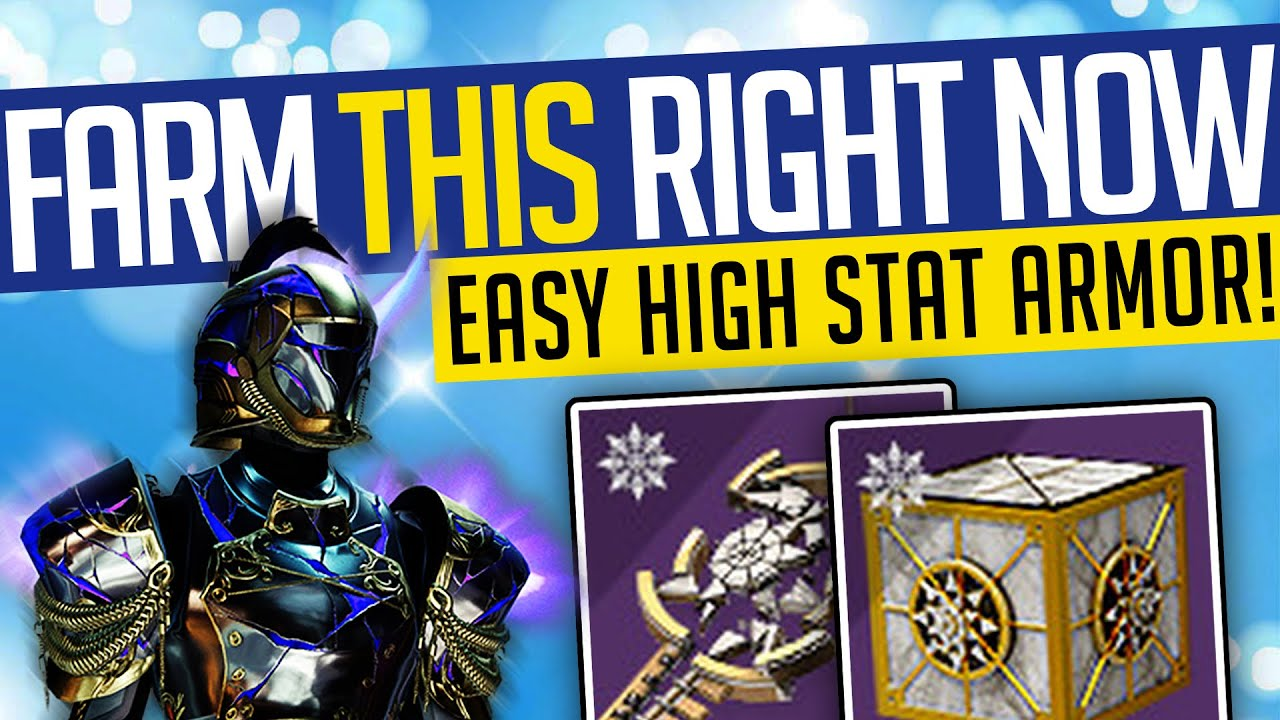 Destiny 2   FARM THIS RIGHT NOW! How To Farm HIGH STAT ...