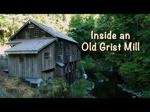 Inside An Old Grist Mill - Mobile Minute