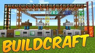 MOD DE TUBERIAS MAQUINAS DE ESCAVAR Y MOTORES: BUILDCRAFT - MINECRAFT MOD 1.8.9/1.7.10